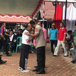 Wakil Bupati Sanggau Yohanes Ontot membuka Turnamen Sumpit