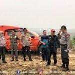 Bupati Sanggau Paolus Hadi mengapresiasi Kapolres Sanggau beserta jajaran yang telah menangani Karhutla di wil...