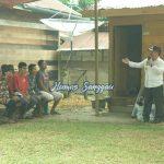 Wakil Bupati Sanggau Yohanes Ontot melaunching program RTLH Dompu di Segole, Kelurahan Tanjung Kapuas Kecamata...