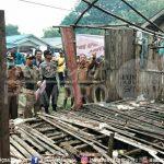 Wakil Bupati Sanggau Yohanes Ontot melaunching Program Rumah Tidak Layak Huni (RTLH) Dompu Kabupaten Sanggau t...