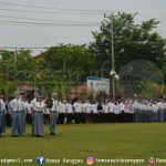 Peringati hari Kesaktian Pancasila tahun 2019, digelar upacara di halaman Kantor Bupati Sanggau, yang diikuti ...