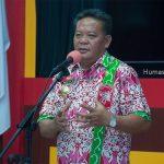 Bupati Sanggau Paolus Hadi menghadiri Pengukuhan Pengurus Bamag Periode 2019-2022 di ruang musyawarah lantai I...