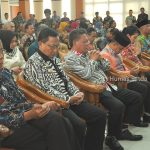 Bupati Sanggau Paolus Hadi menghadiri Serah Terima Jabatan Kepala Perwakilan Badan Pemeriksa Keuangan Republik...